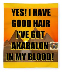 Akabalon Hair Fleece Blanket
