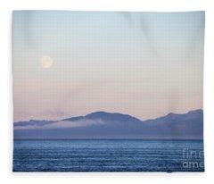 Alaska Coast Fleece Blanket