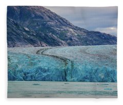 Alaska Glacier Fleece Blanket