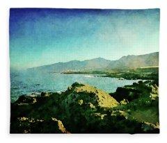 Alcala Coastline Fleece Blanket