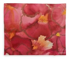 Alcohol Ink - 02 Fleece Blanket