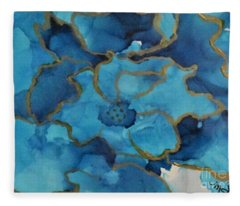 Alcohol Ink - 03 Fleece Blanket