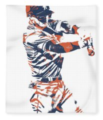 Alex Bregman Houston Astros World Series Homerun Fleece Blanket