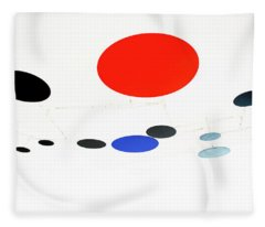 Alexander Calder Mobile 1 Fleece Blanket
