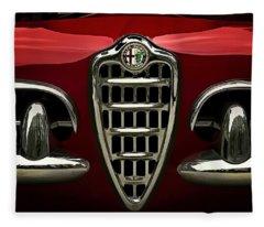 Alfa Red Fleece Blanket