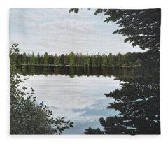 Algonquin Park Fleece Blanket