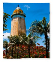 Alhambra Water Tower Fleece Blanket