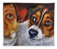 Ali And Ilu Fleece Blanket