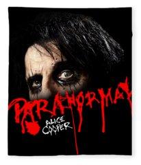 Alice Cooper Paranormal Face Fleece Blanket