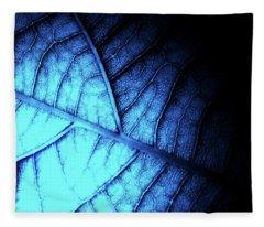 Alien Leaf Fleece Blanket