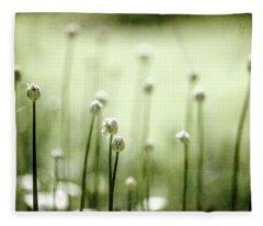 Aliens Fleece Blanket