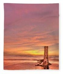 All Aglow Fleece Blanket