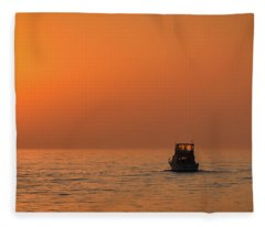 All Alone Fleece Blanket