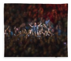 All Hail Eddie Vedder Fleece Blanket