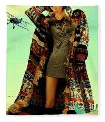 All In,  Fleece Blanket