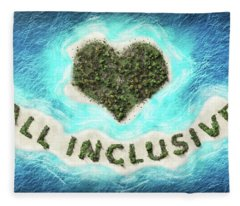 All Inclusive Fleece Blanket