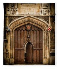 Oxford, England - All Souls Gate Fleece Blanket