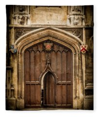 Oxford, England - All Souls Gate Fleece Blanket