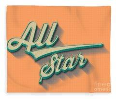 All Star Tee Fleece Blanket