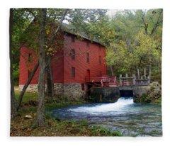 Alley Sprng Mill 3 Fleece Blanket