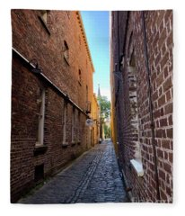 Alleyway Fleece Blanket