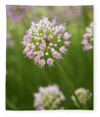 Allium Fleece Blanket