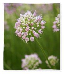 Allium Fleece Blanket