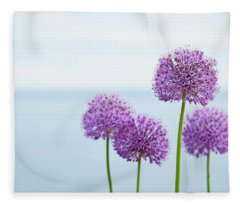Alliums 1 Fleece Blanket