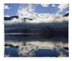 Keechelus Lake Fleece Blankets
