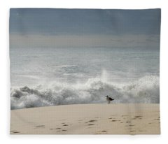 Alone - Jersey Shore Fleece Blanket
