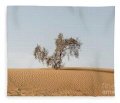 Alone Fleece Blanket