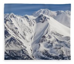 Alone At The Top Fleece Blanket