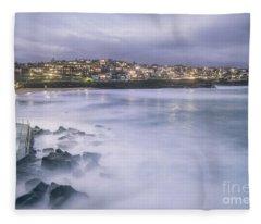 Along The Crystal Shore  Fleece Blanket