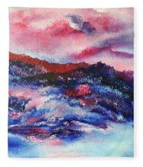 Alpenglow Fleece Blanket