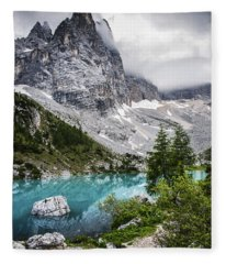 Alpine Lake Fleece Blanket