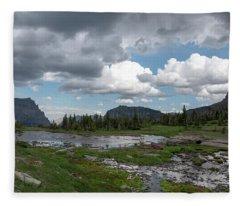 Alpine Oasis Fleece Blanket