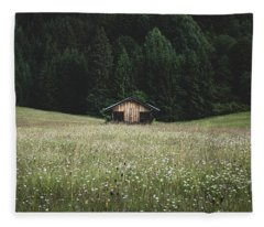 Alpine Symmetry Fleece Blanket