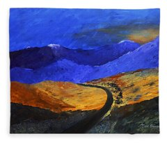 Alpine Vista Fleece Blanket