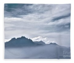 Alps Fleece Blanket
