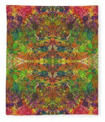 Altered States Of Consciousness #1533 Fleece Blanket