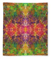 Altered States Of Consciousness #1534 Fleece Blanket