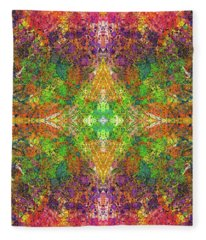 Altered States Of Consciousness #1535 Fleece Blanket