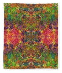 Altered States Of Consciousness #1536 Fleece Blanket