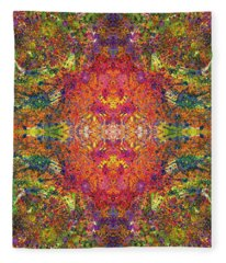 Altered States Of Consciousness #1541 Fleece Blanket