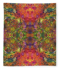 Altered States Of Consciousness #1542 Fleece Blanket