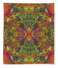Altered States Of Consciousness #1543 Fleece Blanket
