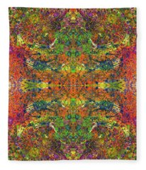 Altered States Of Consciousness #1544 Fleece Blanket