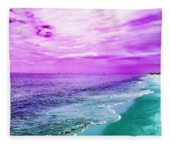 Alternate Beach Escape Fleece Blanket