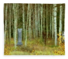 Alvarado Cemetery 41 Fleece Blanket
