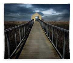 Alviso, California Fleece Blanket